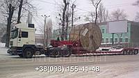 Международные перевозки негабаритных грузов Украина - Хорватия. Аренда трала. Негабарит
