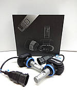 Автолампы LED S1 диод CSP Южная Корея, H9, 8000LM, 50W, 9-32V, фото 1
