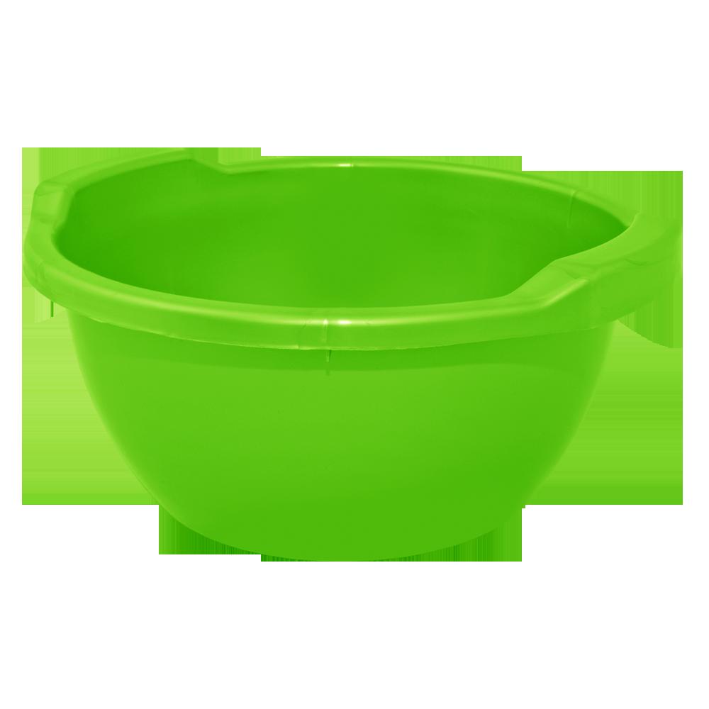Таз круглый пластмассовый (п/э), миска пищевая, 3л, Алеана