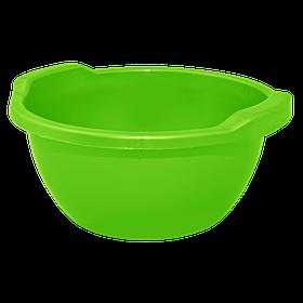 Таз круглый  пластмассовый , миска пищевая, 3л, Алеана