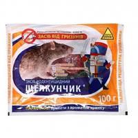 Щелкунчик от крыс и мышей 100 г. парафиновые брикеты