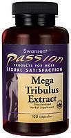 Природное повышение тестостерона - Мега Трибулус (Mega Tribulus Extract), 250 мг 120 капсул