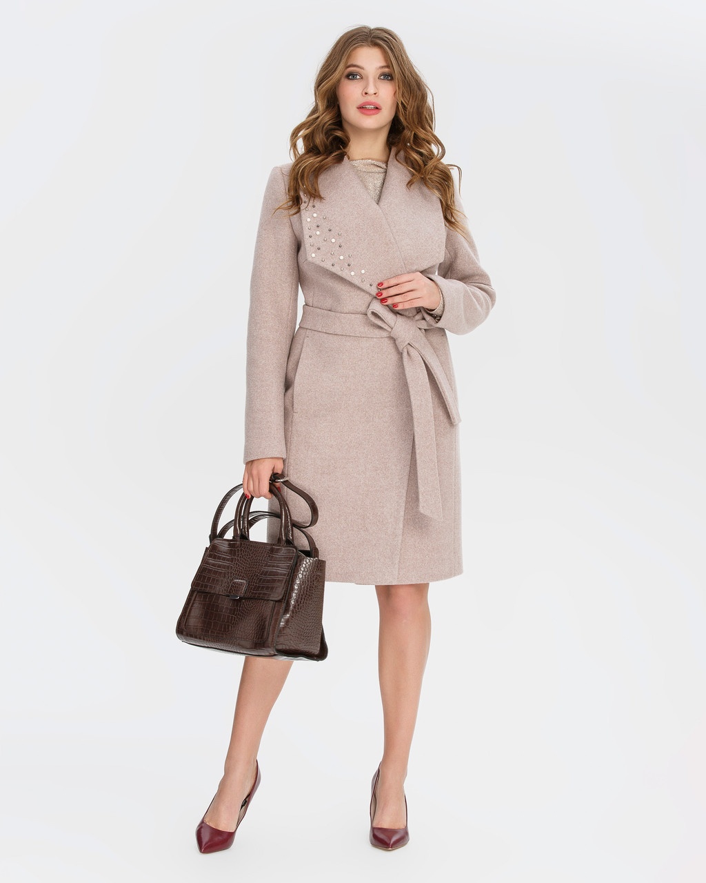 Пальто женское демисезонное  1326, 42-52