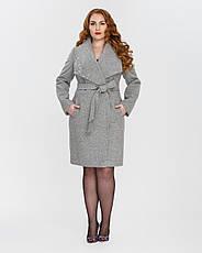 Пальто женское демисезонное  1326, 42-52, фото 3