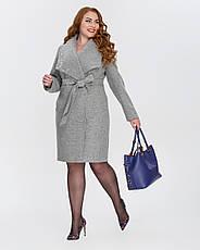 Пальто женское демисезонное  1326, 42-52, фото 2
