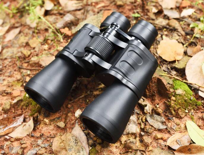 Bushnell 20x50 - Мощный водонепроницаемый бинокль с защитным клапаном линз. Гарантия качества!
