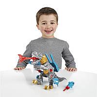 Трансформер Гримлок сборная электронная фигурка серии Transformers Hero Mashers