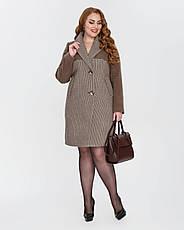Пальто женское демисезонное  1327, 42-50, фото 3