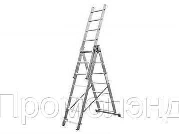 Лестница алюминий 3х10 HIGHER 583 см