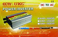 CCTV / UKC - Инвертор напряжения автомобильный, KHM-1000, 12/220, 1000W