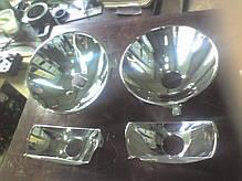 Напыление отражателя фары, металлизация отражателя фары, восстановление отражателей, фото 3