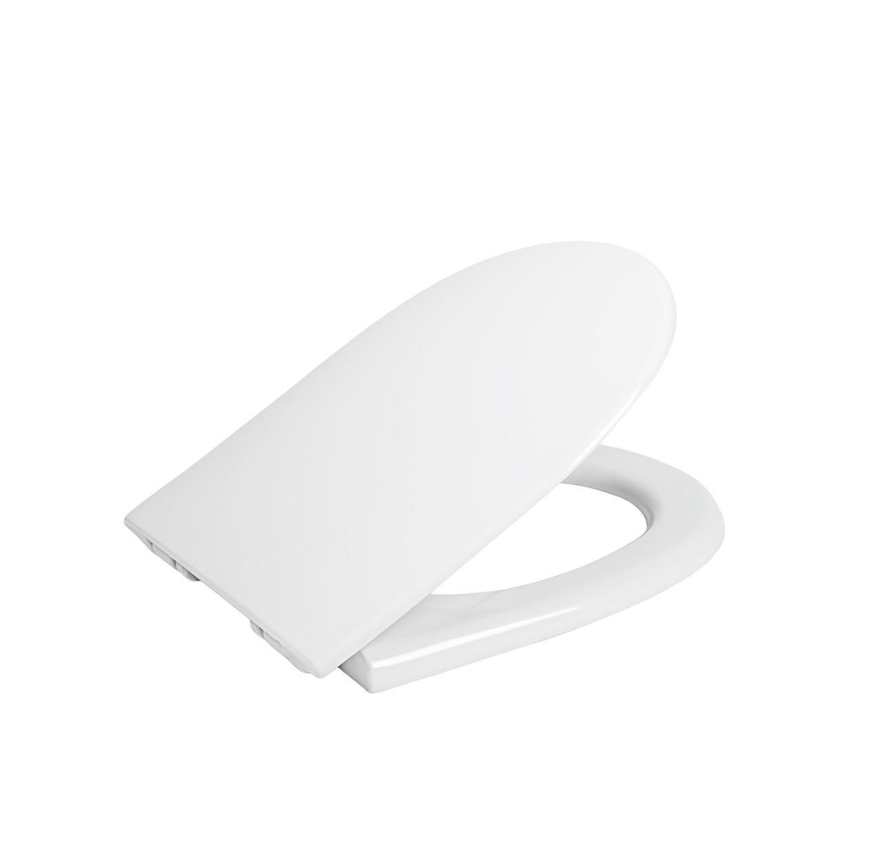 Пластиковая крышка для унитаза Акцент-Мерида микролифт Sydanit