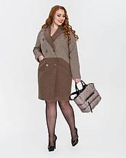 Пальто женское демисезонное  1331, 42-50, фото 3