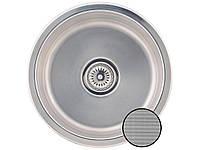 Кухонная стальная мойка мини Galati Pula TEXTURA