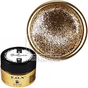 Жидкий гель F.O.X Brilliance №05, 5 мл золото