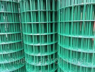 Сетка сварная с ПВХ покрытием 50х50х1,9мм рулон 1,8/30м, фото 2