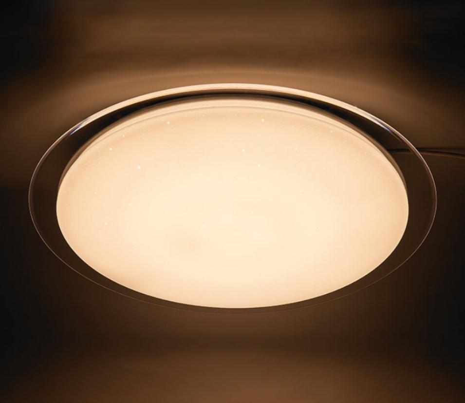 Потолочный светодиодный светильник, люстра с пультом управления 48W d46см. Z-light