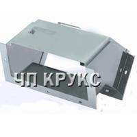 Короб кабельный блочный угловой с поворотом вниз на 45º ККБ-УНП-0,2/0,5