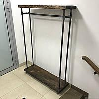 Рейл вешалка для одежды лофт
