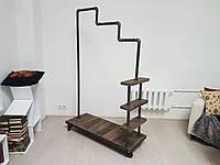 Дизайнерский рейл для шоурума на колесиках