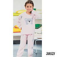 Теплые пижамы детские оптом для девочек Soft