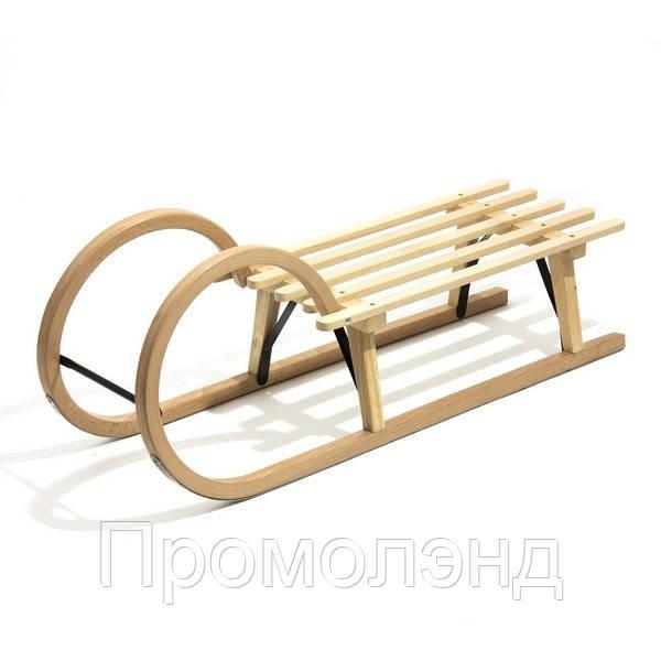 Санки деревянные WOOD ROGI
