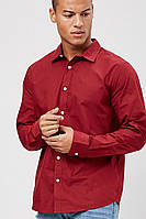 Мужская бордовая рубашка Forever21 L, фото 1