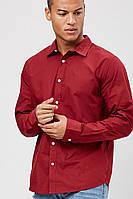 Мужская бордовая рубашка Forever21 L