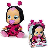 Лялька пупс Плакса Леді Баг Cry Babies Lady The Ladybug