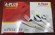 Набор столовых приборов A-PLUS - 1415, 24 предмета