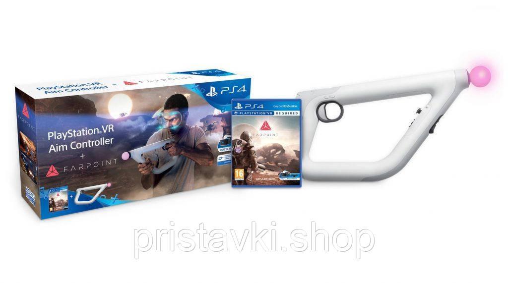 Джойстик Playstation 4 \ Playstation 5 Aim Controller + игра Farpoint