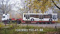 Международные перевозки негабаритных грузов Украина - Испания. Аренда трала. Негабарит