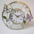 Часы настольные Бабочка и цветы Jardin D'ete