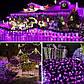 Новогодняя гирлянда 200 LED, Длина 16m, Розовый свет, фото 3