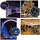 Новогодняя гирлянда 200 LED, Длина 16m, Розовый свет, фото 5