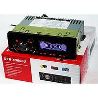 Магнитола для вашего авто pioneer deh-x3006u, размер 1din, полушахта в комплекте, fm, разъёмы sd, usb, aux