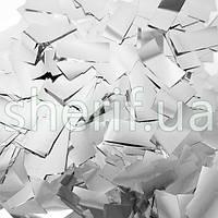 Конфетти метафан серебро Silver , 100грамм SR-12-100