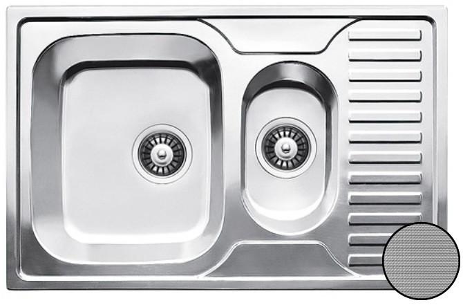 Кухонная стальная мойка Galati Petrika Textură