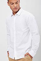 Мужская белая рубашка Forever21 L, фото 1