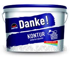 Декоративная штукатурка Danke  Kontur 15, 25кг