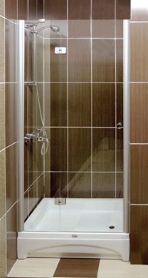 Душевая дверь распашная с матированием под проем 850-890 мм
