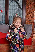 Лёгкий комбинезон для девочки с цветочным принтом НОВИНКА 2019-2020, фото 2