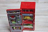 Холодильник арт 14006   22,5см, муз, свет, продукты, на бат-ке, в кор-ке,21-27-10 см  , фото 5