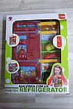 Холодильник арт 14006   22,5см, муз, свет, продукты, на бат-ке, в кор-ке,21-27-10 см  , фото 6