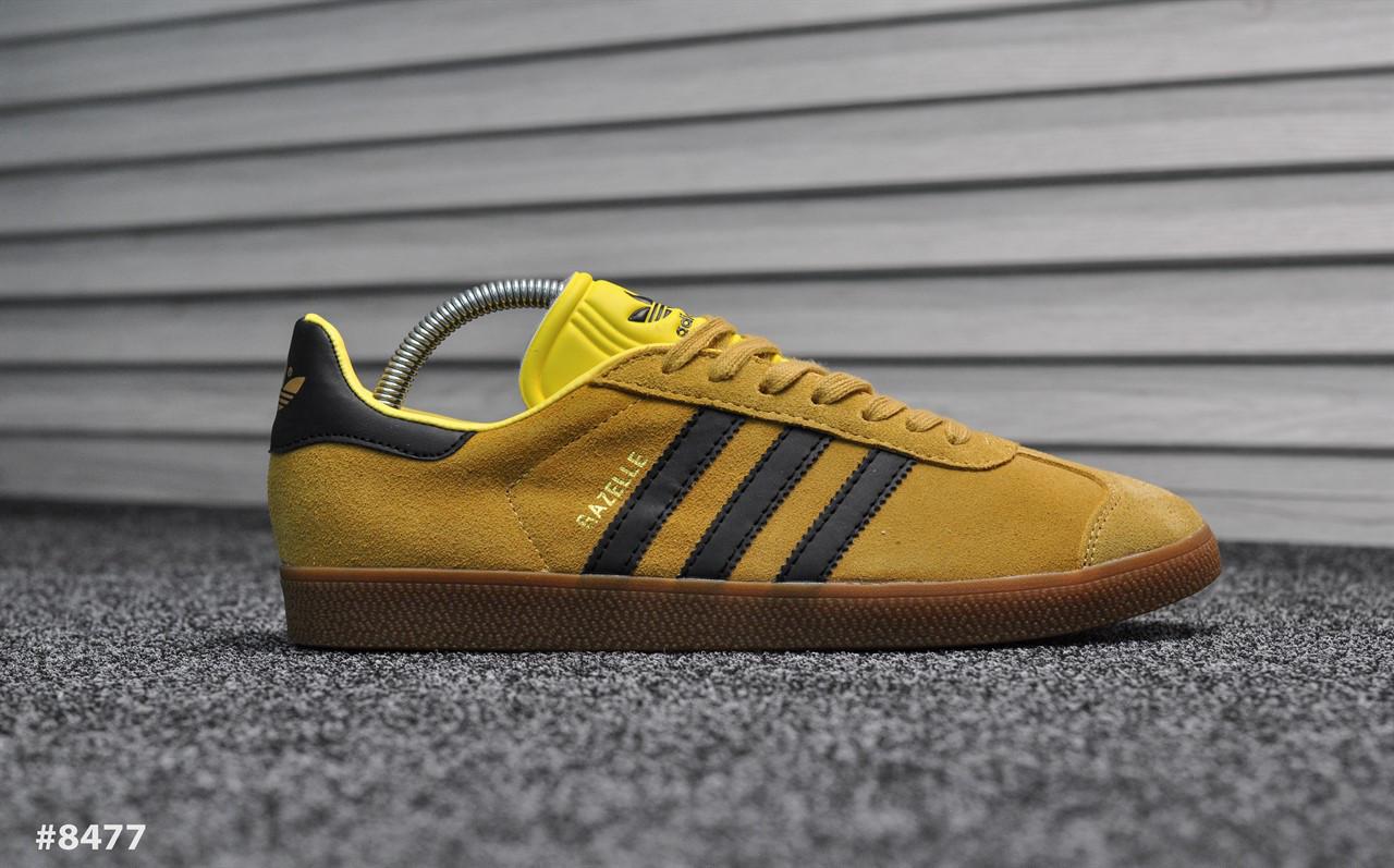Adidas Gazelle II Brown Yellow (Реплика)