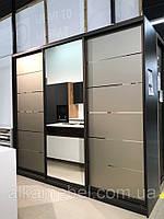 Шкаф-купе А-2658 Размер 2626*600*2400 Установлена Премиум система bronza mat, фото 1
