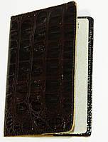 Обложка на документы женская лаковая коричневая искусственная кожа, фото 1