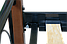 Кровать Лара Люкс Вуд односпальная, металл + дерево, фото 5