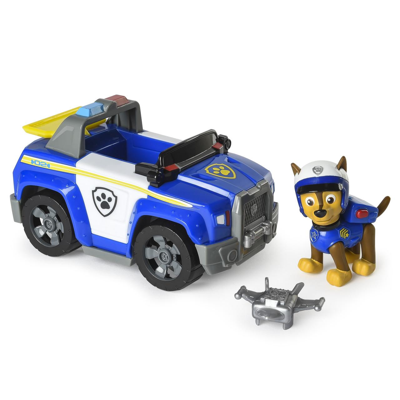 Игровой набор Чейз с машинкой Щенячий Патруль PAW Patrol  Chase's Highway Patrol Cruiser with Launcher and Ch