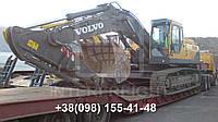 Международные перевозки негабаритных грузов Украина - Нидерланды. Аренда трала. Негабарит